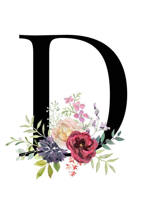flower  letter wallpaper