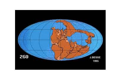Plaques Tectonique Pangaea Drift Animation Carte Gifs