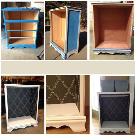 refinished dresser turned   wardrobe closet