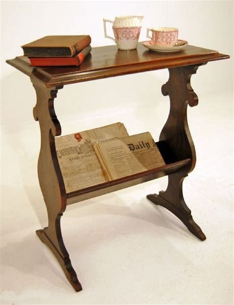 Living Room Antique Side Tables by Occasional Side Table Magazine Rack Book Shelf Antique