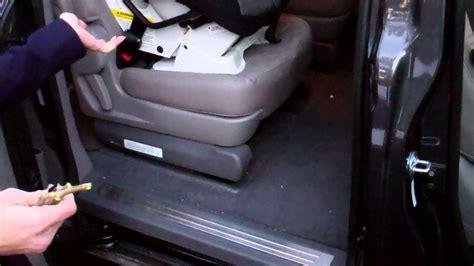 kia sedona automatic sliding door warning youtube