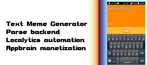 Meme Creator Script - comprare testo meme generator chat e utility per android chupamobile com
