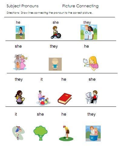 All Worksheets » Possessive Pronouns Worksheets For Kindergarten  Printable Worksheets Guide
