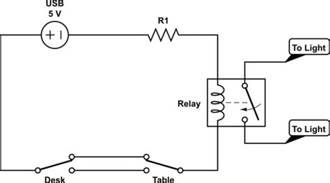 Switches Relay Controlled Light Circuit Help