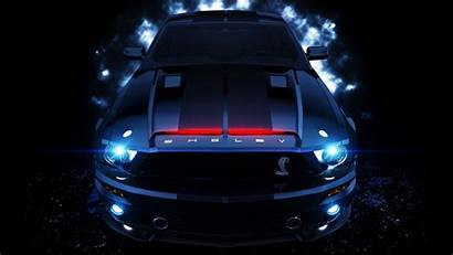 Mustang Gt500 Ford Shelby Rider Neon Night