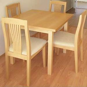 Solid wood dining set Byala - Beech - furniture shop