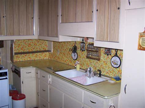 Smart Efficient Temporary Backsplash Wallpaper  Savary Homes