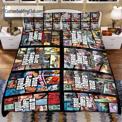 Bed Linens Gta by Grand Theft Auto All Series Bedding Set Blanket Sheets