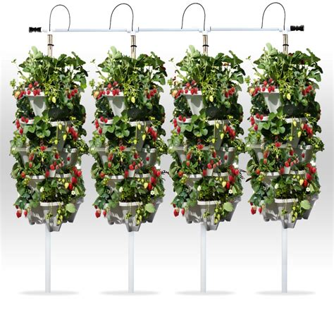 Vertical Hydroponic Garden by Diy Vertical Hydroponic 4 Tower Kit