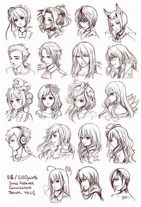 anime hair styles anime hairstyles hairstyles ideas