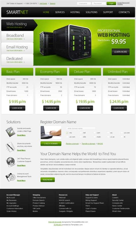 free html css templates 60 modern and professional looking yet free xhtml css website templates designbeep