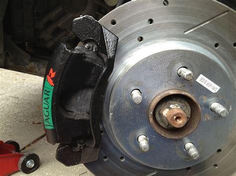 day  rusty rotors  caliper fail jaguar forums