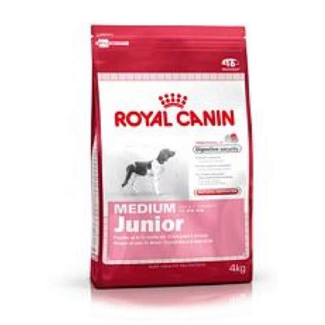 royal canin medium junior royal canin medium junior puppy 4kg