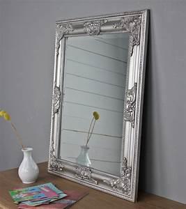 Großer Wandspiegel Silber : spiegel silber barock elbm bel landhausm bel ~ Markanthonyermac.com Haus und Dekorationen