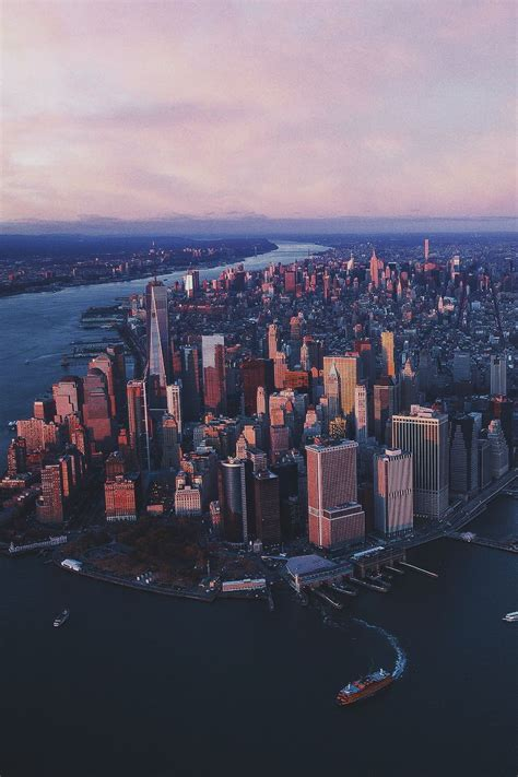 manhattan wallpaper ideas  pinterest