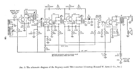 1 transistor radio schematic illustration of wiring
