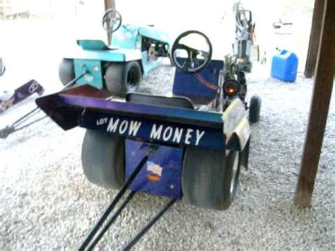 Slicks Garage Lawn Mower Engine by Racing Mower Outlaw Modified Doovi