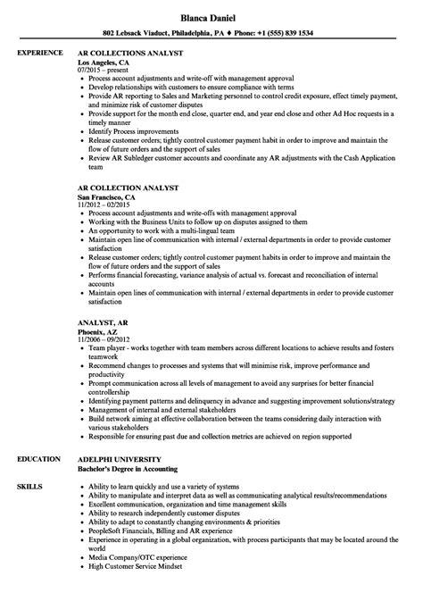 18465 an exle of a resume ar resume sle resume ideas
