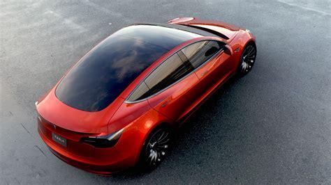 Electric Car Models 2017 by Tesla Motors Model 3 Specs 2017 2018 Autoevolution