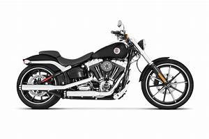 3 U0026quot  Slip-on Exhaust For Harley Softail