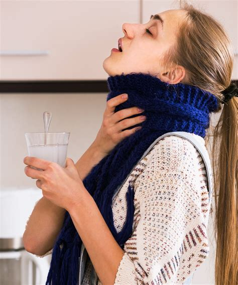 How To Get Rid Of Sore Throat Fast Painful Swallowing