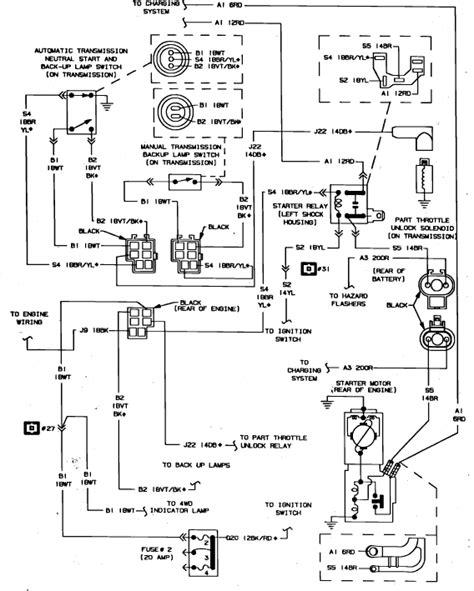 1992 Dodge Dakotum Ignition Wiring Diagram by 87 Dodge Dakota Has No Response From Key In On Or Start