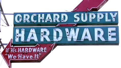 beloved orchard supply hardware sign disappears
