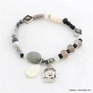 Bracelet Avec Elastique : bracelet lastique avec pendentif bouddha grossiste bijoux fantaisie parissima ~ Melissatoandfro.com Idées de Décoration
