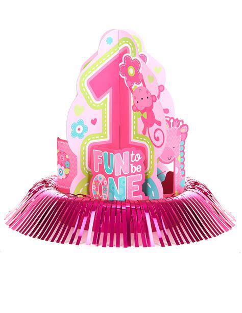 decoration anniversaire fille 1 an kit de d 233 coration centre de table 1 an fille d 233 coration anniversaire et f 234 tes 224 th 232 me sur