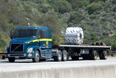 volvo 18 wheeler trucks volvo big rig flatbed truck 18 wheeler flickr photo