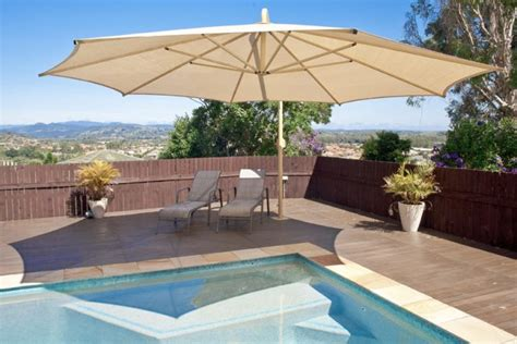 pool shade solutions enhance your home with commercial umbrellas global shade
