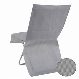 Housse De Chaise Grise : housse de chaise grise jetable pas cher drag es anahita ~ Teatrodelosmanantiales.com Idées de Décoration