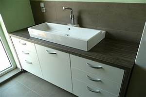 emejing meuble cuisine pour salle de bain contemporary With salle de bain avec meuble de cuisine