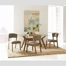 Paxton Rectangular Glass Dining Room Set, 122171cb60rt