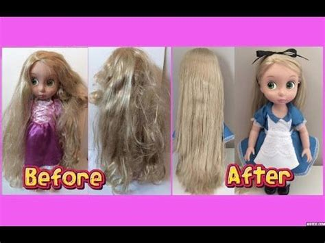 fix doll hair restore tangled frizzy messy doll