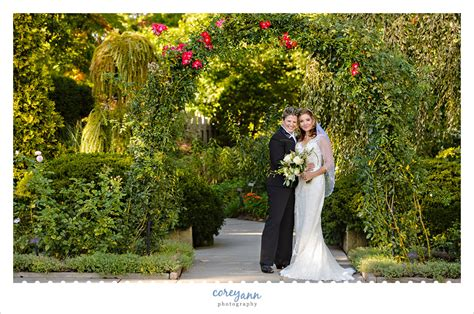 cleveland botanical garden wedding with and carolyn