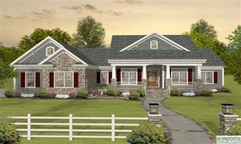 house plans bungalow craftsman one story ranch house plans one story bungalow long ranch style house plans