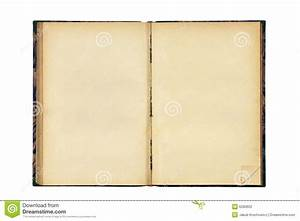 Open Old Blank Book Stock Photography - Image: 6280602