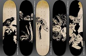 Skateboard Deck Designs by zerogenius on DeviantArt