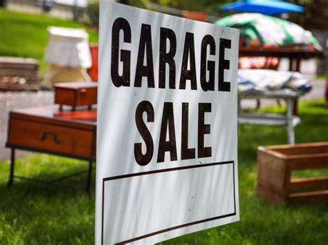 Garage Sales Full Of Free Household Essentials For Fire