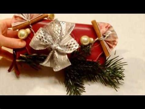 gutschein weihnachtlich verpacken geldgeschenk zu weihnachten sch 246 n verpacken