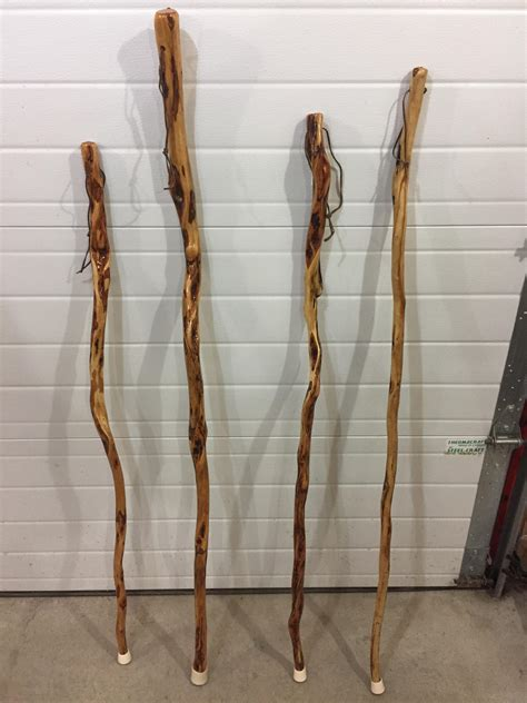 diamond willow walking sticks harvested fall  dried