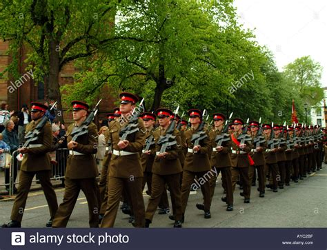 Kings Own Royal Border Regiment High Resolution Stock ...
