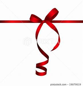 Gift Card with Red Ribbon and Bow. Vector - Stock ...