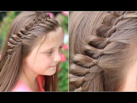 strand french braid pinback cute girls hairstyles