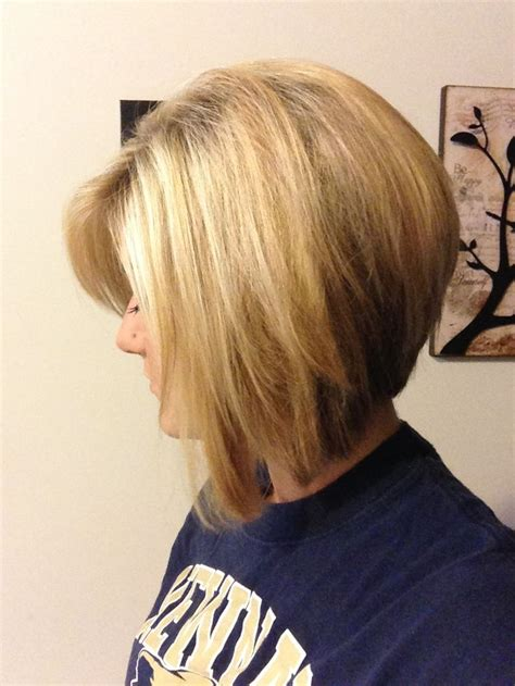 side view   inverted bob bob hairstyles