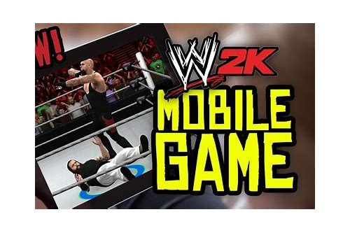 wwe 2k15 android apk games