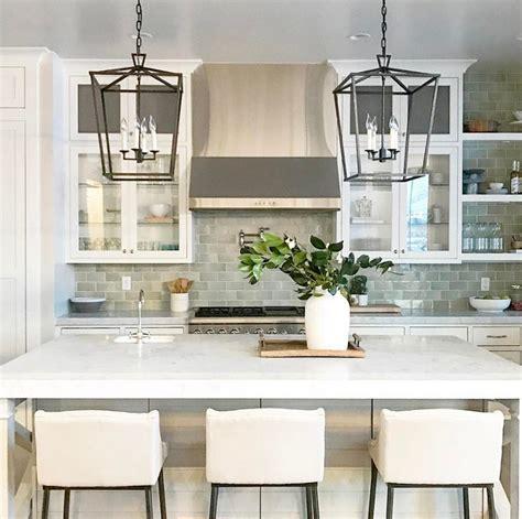 farmhouse kitchen island lighting 37 beautiful farmhouse interior designs the home