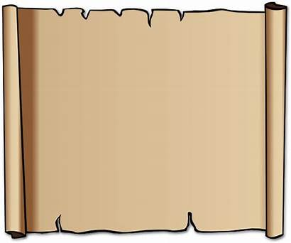 Scroll Clipart Cliparts Clip