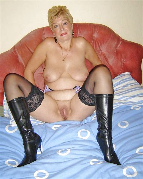 Old Granny Toys In Boots And Stockings 53 Pics